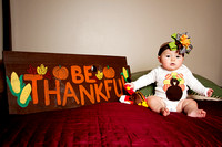 Natalie's first Thanksgiving
